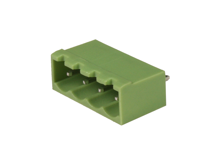 5.08 mm pitch - pluggable straight male closed terminal block - 4 contacts