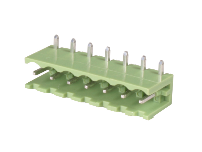 5.08 mm pitch - pluggable right angle male terminal block - 7 contacts