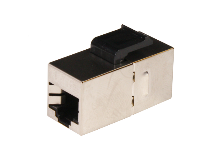 Dual Female Adapter RJ45 8P8C - Cat. 6 - Armored - CE-2207B