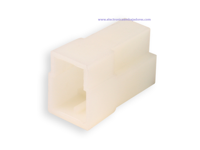 Protection Block for Faston Male 3 Way (Equivalent: 180940) - TE9293