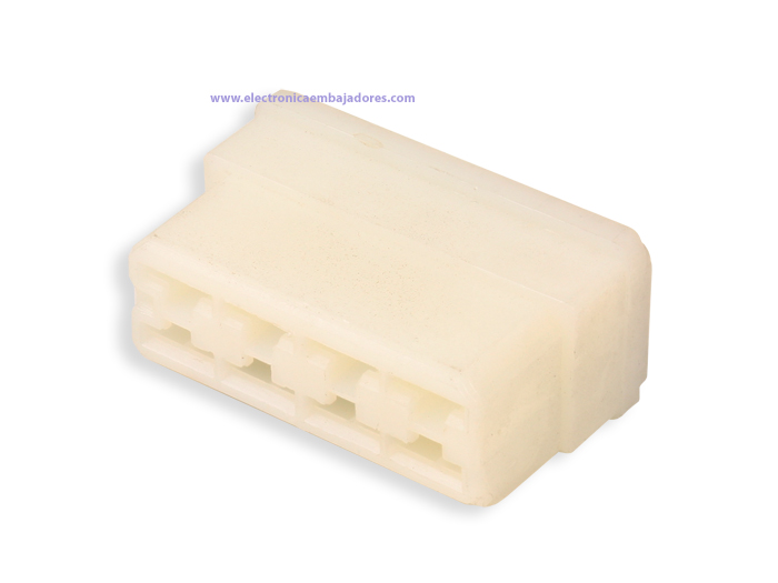 Protection Block for Faston Female 8 Way - TE9198