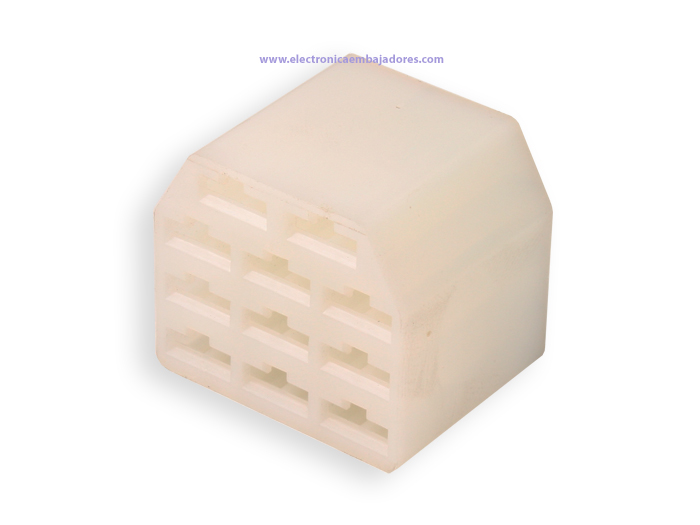 Protection Block for Faston Female 11 Way