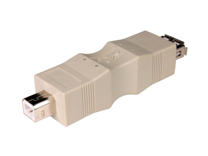 Adaptador USB-A Fêmea 3.0 - USB-B Macho - 38.462
