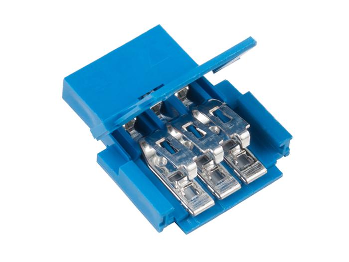 Amphenol FFC/FPC CLINCHER - Connecteur FCI Femelle 3 Pòles - 65801-003LF