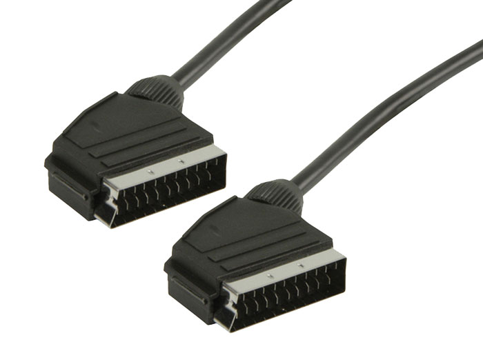 Male SCART to Male SCART Cable - 5 m - V-1000GB/5
