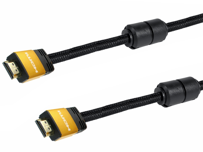 HDMI to HDMI 2.0 - 10 m Cable with Ferrites - 4K Ethernet - EQ110100