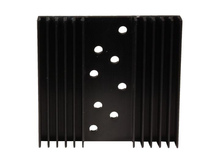 75 x 80 x 14 mm Heat Sink 2 x TO3 - 25/7/2A