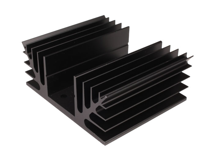Dissipador de Calor 75 x 88 x 35 mm - 2 TO-3 - 41/7/2A