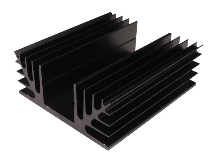 Dissipador de Calor 100 x 88 x 35 mm - não Perfurado - 41/100
