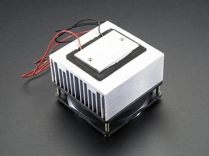 Module Peltier 60 W avec Ventilateur et Dissipateur Thermique - 1335