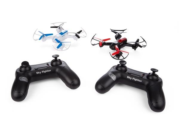 JUEGO DE 2 DRONES - SKY FIGHTER