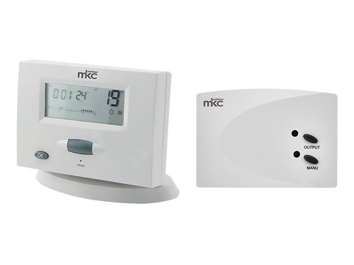 Cronotermostato Inalámbrico con Temporizador Calefaccion / Refrigeración - MK722