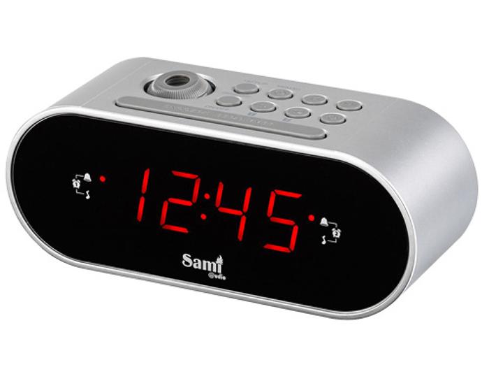 Reloj Proyector Sobremesa Despertador con Radio - SM-RS1009
