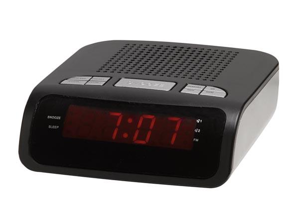 RELOJ SOBREMESA DESPERTADOR CON RADIO DENVER CR-419MK2
