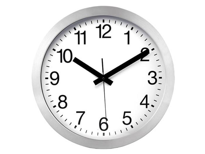 Reloj de Pared DCF - Aluminio - Ø 30 Cm - WC30D2