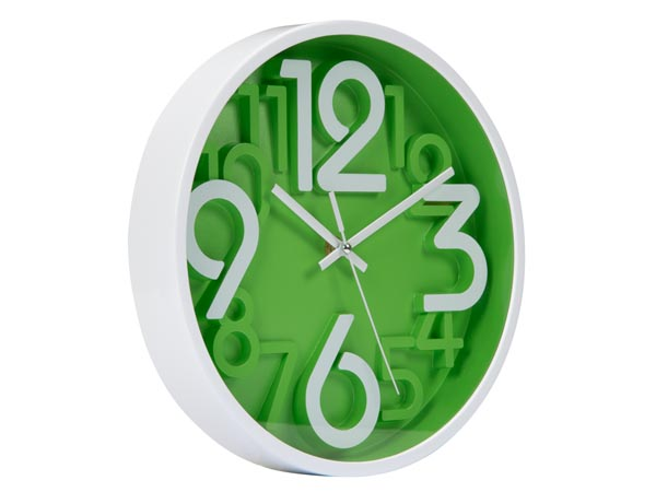 Reloj de Pared 3D - Ø 25 Cm - WC25G