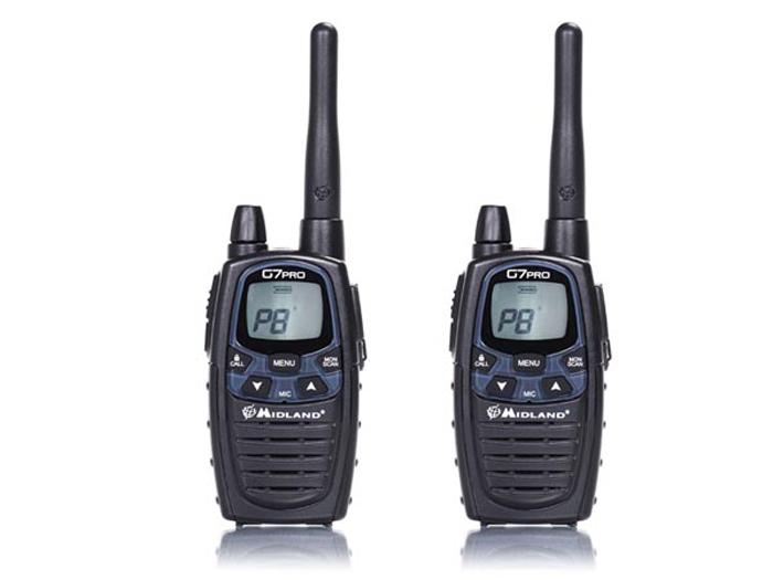 Midland G7 Pro - Walkie-Talkie PMR 446 - Par
