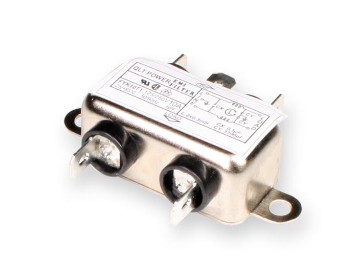 Filtro EMI/EMC base 10A
