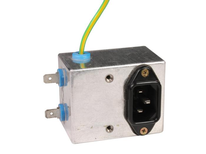 FILTRO EMI/EMC CON BASE IEC60320 C14 SIEMENS B84104-K911