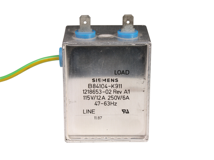 SIEMENS B84104-K911 EMI-EMC filter with IEC60320 C14 chassis-mount