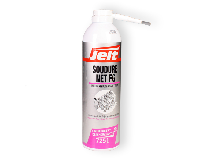 Jelt Soudure Net Fg - Circuit Board Cleaner Spray Can - 400 ml - 7251