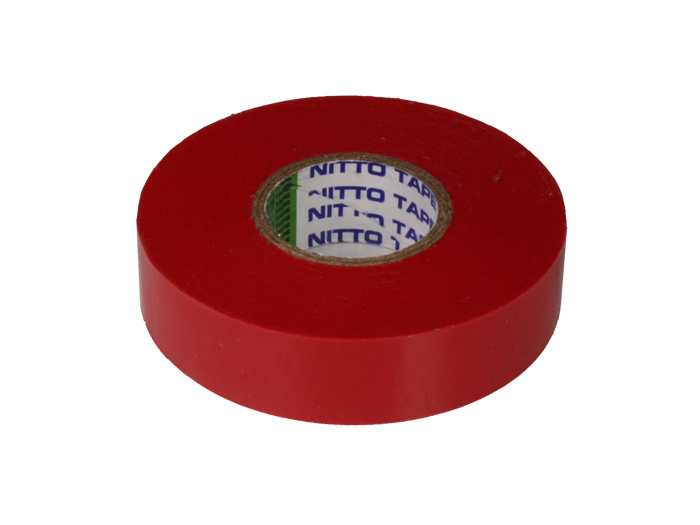 NITTO - Adhesive Insulation Tape 19 mm - 20 m - Red