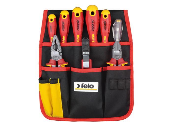 bolsa porta herramientas electricista felo 413 995 04