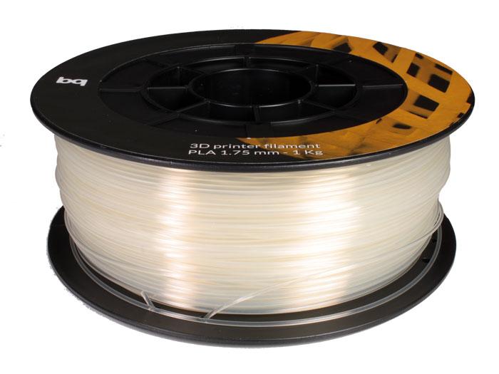 Filamento PLA - 1,75 mm - Cor Transparente - 1 Kg - PLA175W1