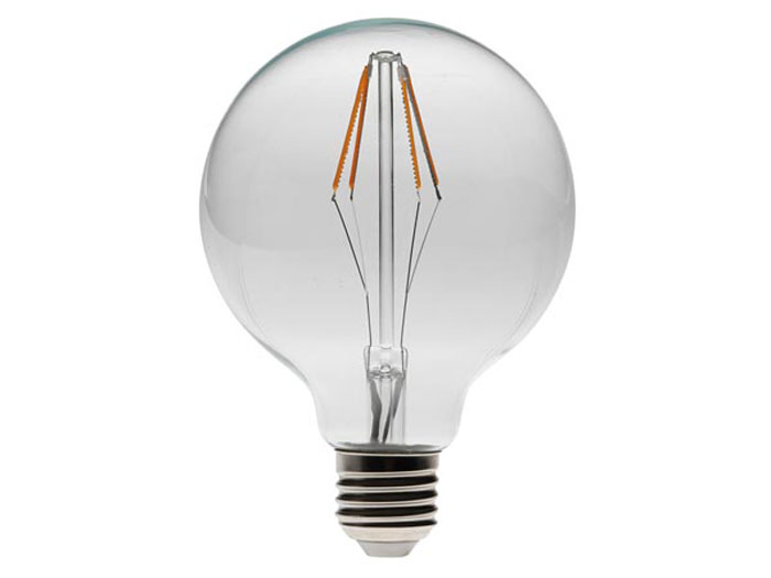 BOMBILLA LED BLANCO CALIDO INTENSO E27 4,5W - TIPO FILAMENTO - RETRO