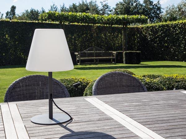 L mpara dom stica para exteriores de dise o jardin 52 - Como ligar para o santander do exterior ...