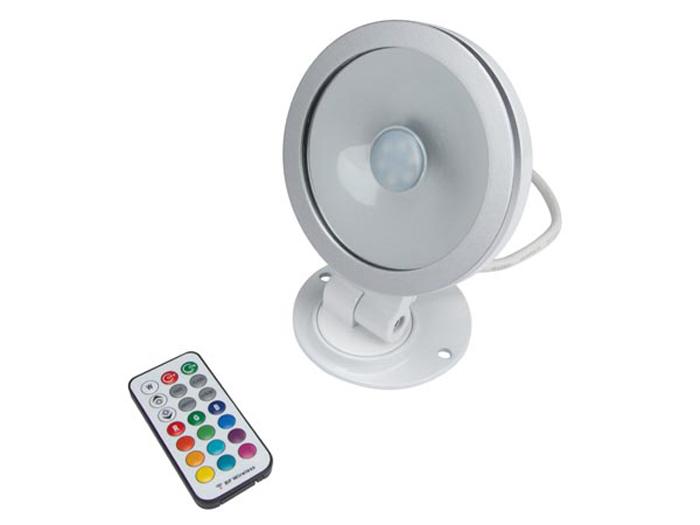 FOCO PROYECTOR DE LED - RGB - 20W - CON MANDO