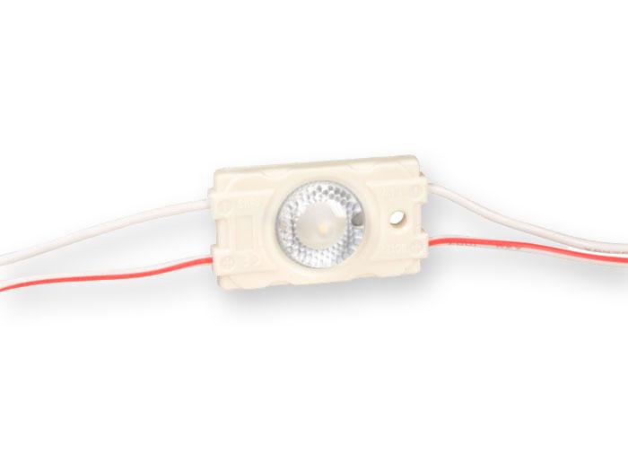 LED Module 1.4 W 12 V Warm White - 1 x SMD3030 - BM2814 2800-3200K