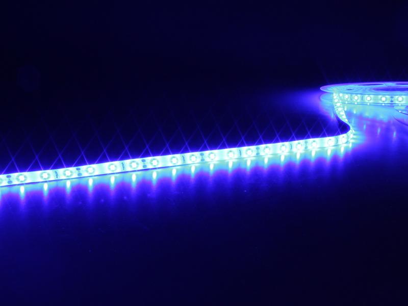 Roll of Self-Adhesive Blue LED Strip - 300 2835 LEDs per Roll - IP65 - 5 m - MJ-B2835FS30-F12W08