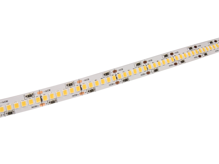 Roll of self-adhesive cool white LED strip - 1200 2835 LEDs per roll - IP20 - 5 m