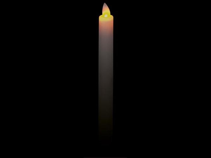 VELA ELETRÓNICA CERA COM LED