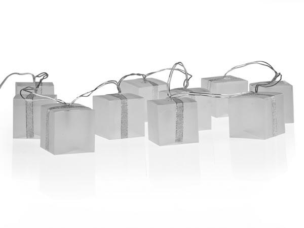 Present shaped LED string Lights - hologram effect - XML22