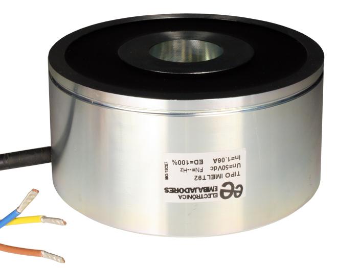 Solénoïde 48 V - Ventouse Électromagnétique - Ø110 × 56 mm