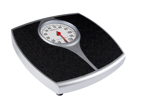 Mechanical bathroom weighing scales - 130 Kg / 1 Kg - scales