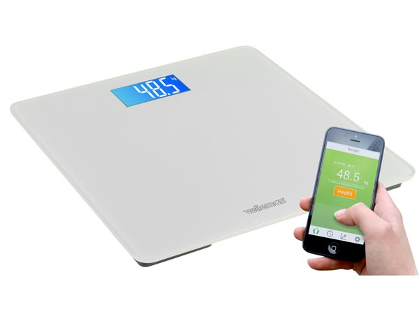 Balança casa de banho inteligente com app- 150 Kg - 0,1 Kg - escala inteligente