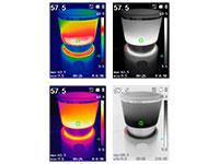 PeakTech 5615 - IR-Thermal Imaging Camera - 160 x 120 px -20ºC .. 550ºC - P 5615
