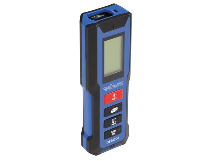 Medidor de distância laser DEM701 - até 30 m