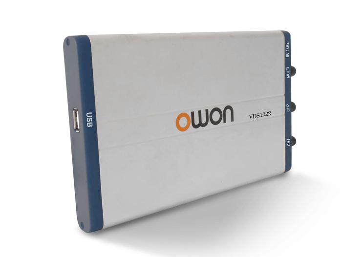 Oscilloscope 2 canaux OWON VDS10221 pour USB