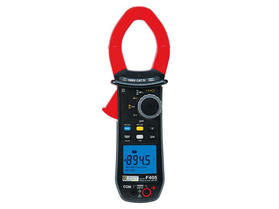 Pinça amperimétrica digital vatimetrica CHAUVIN ARNOUX F405