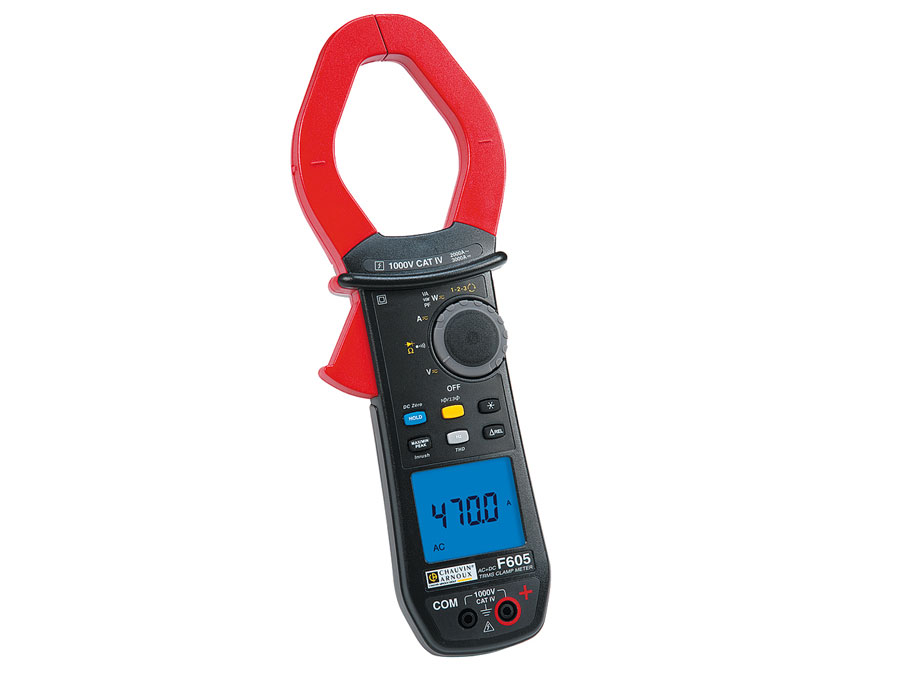 Pinça amperimétrica digital wattimetrica CHAUVIN ARNOUX F605