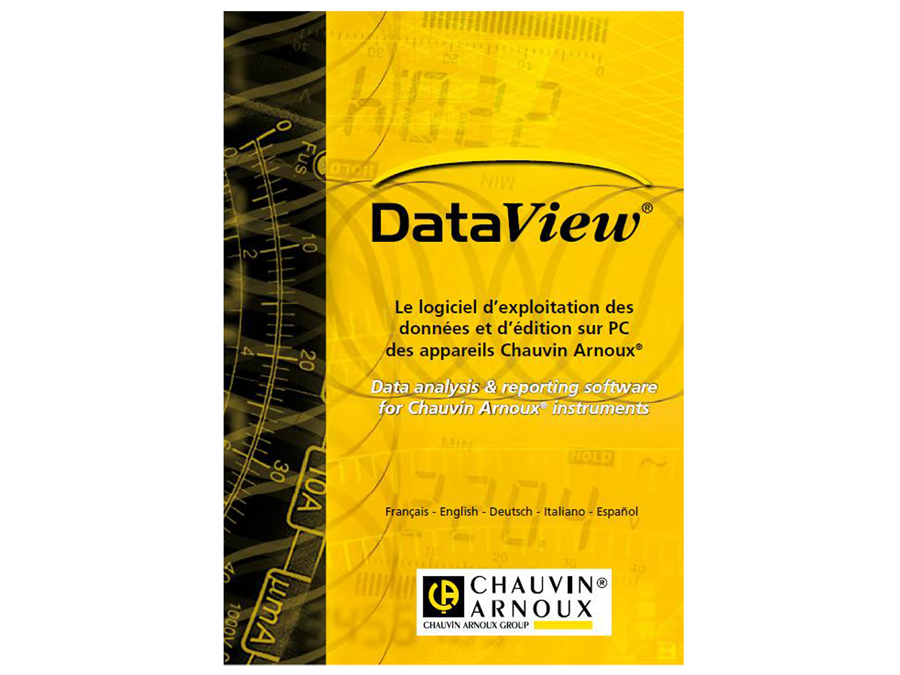SOFTWARE CHAUVIN ARNOUX DATAVIEW