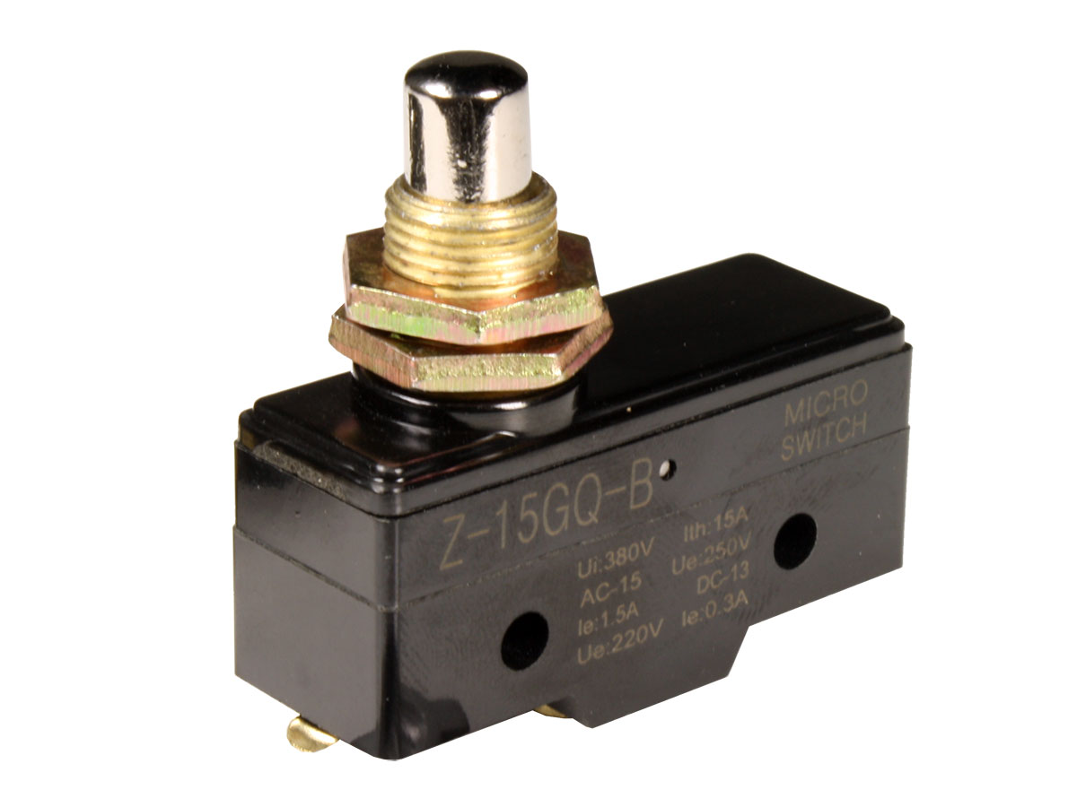 Large Limit Switch with Plunger - Z-15GQ-B