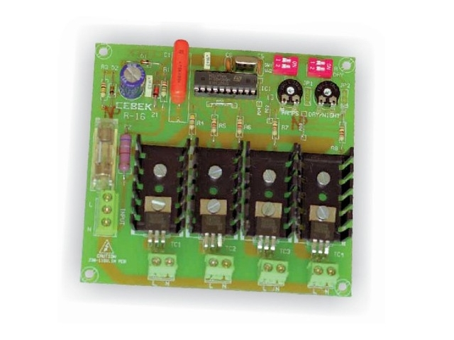 Cebek - Professional Regulator Module for for Model Making - 4 Outputs - R-16