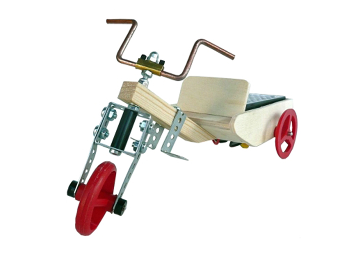 Cebek - Educational Solar Tricycle Kit - C-6138