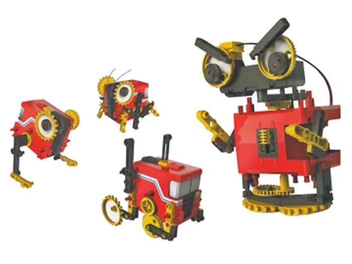 Cebek Robokit - Kit Robot Motorizado 4 en 1 - C-9882