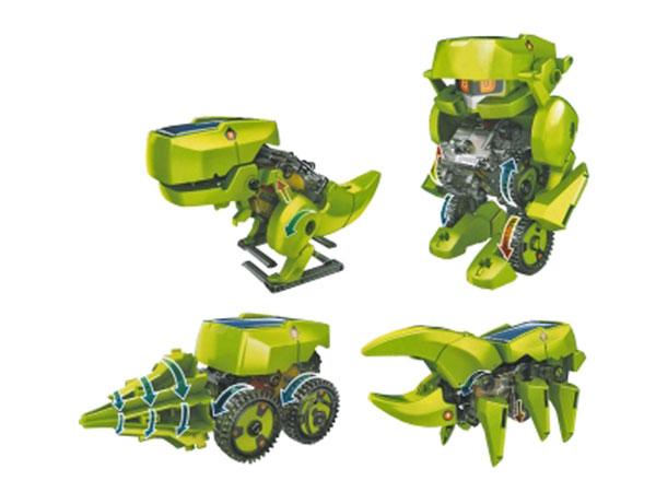 Cebek Robokit - Kit Robô Solar 4 em 1 - C-9928